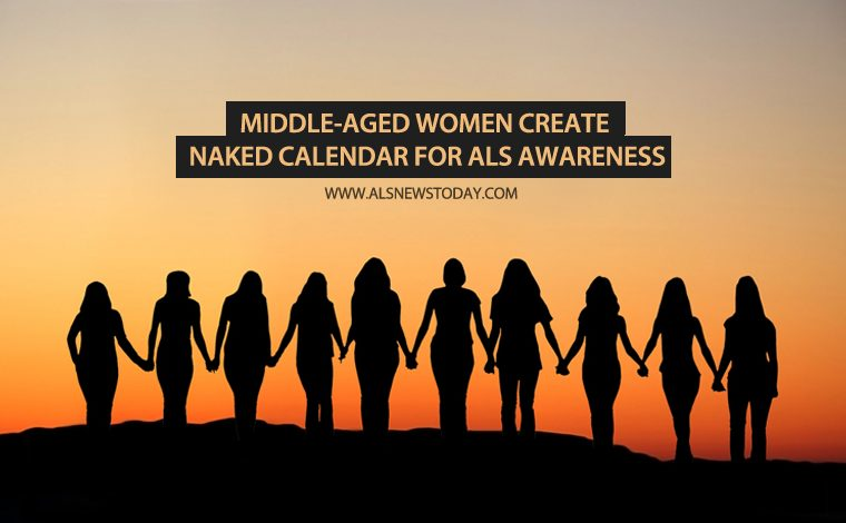 ALS Awareness: Middle-aged women create naked calendar