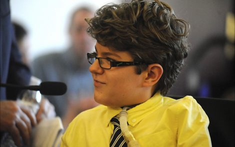 'A Disease May Be Rare, Hope Should Never Be,' Says Boy with SMARD at Connecticut Rare Disease Day Event