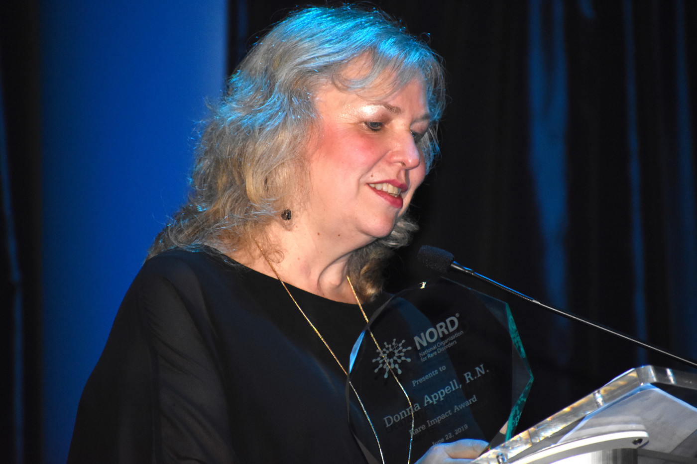 Amber Michaels Forum nord honors industry, patient advocates at rare impact