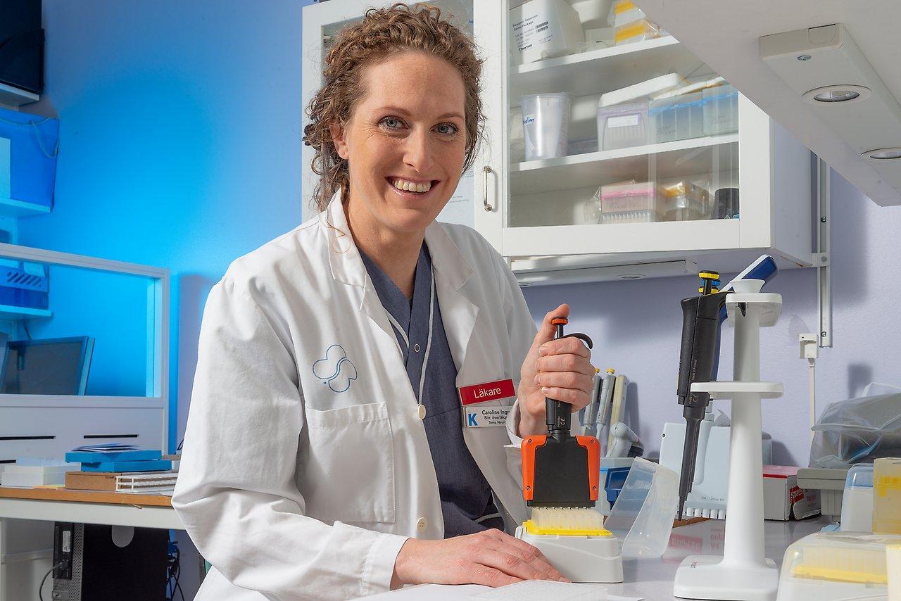 Caroline Ingre, ALS researcher