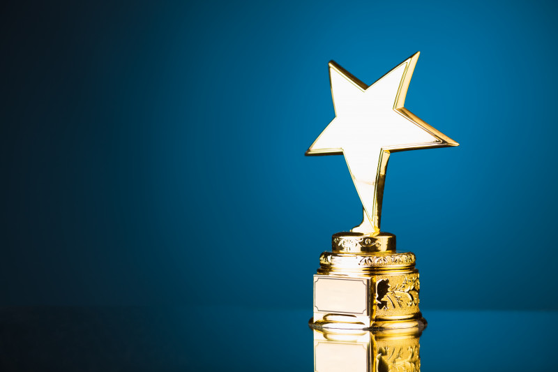 ALS Courage Award nominations | ALS News Today | trophy showing a star