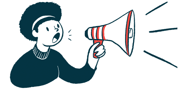 Masitinib   ALS News Today   European clinical trial   illustration of woman with megaphone